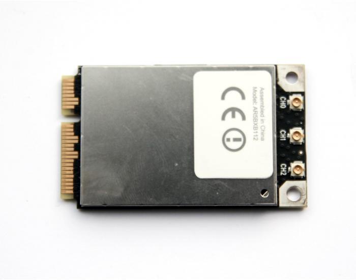 """AirPort Wi-Fi Bluetooth card, 607-7212-A, iMac 21.5""""/27"""" A1311/A1312, 2011"""