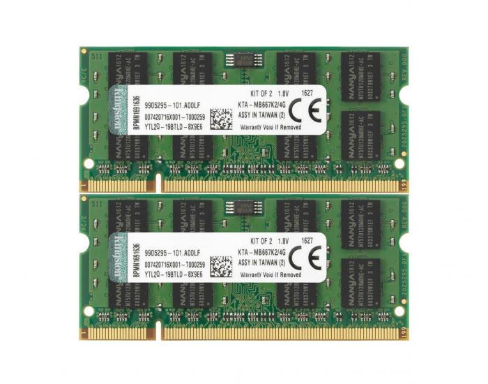 RAM memory, 666Mhz, DDR2, Mac Certified