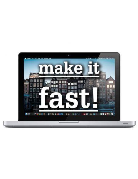 """* UPGRADE: MacBook / Pro 13"""", RAM + SSD schijf"""