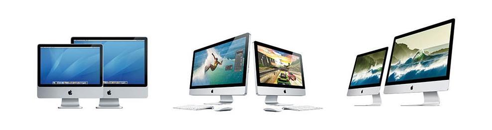Apple iMac onderdelen, accessoires, diensten en reparatie