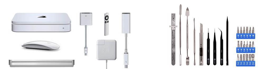 Apple Mac / iMac / MacBook accessoires, oplader, gereedschappen, adapter