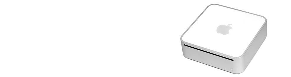 Apple Mac Mini A1283 (2009) onderdelen en diensten