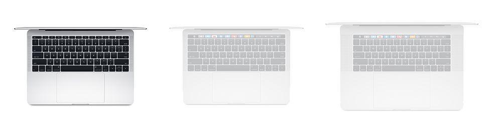 "MacBook Pro 13"" F-Keys A1708 (2016-2017)"